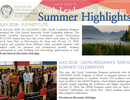 E-Newsletter Launched for Youth Leadership Program!